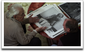 Norman Gershman and Stu Huck discuss their portrait of Rexhep Hoxha. ©JWM Productions, LLC